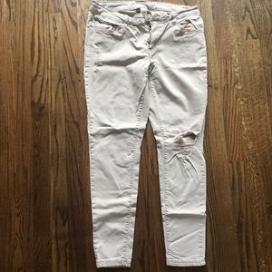 So Girls Distressed Low Rise Jegging Size 17
